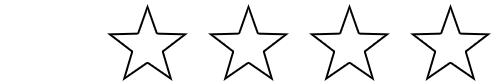 1 star rating