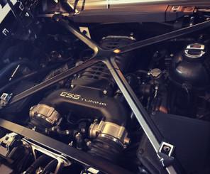 R8 V10 TS-790 supercharger system