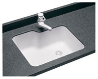 Swanstone US-2215 Undermount Single Bowl - Aggregate Color
