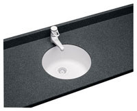USRB-18 Undermount Round Bowl - Aggregate Color