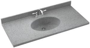 CH2B2261 Chesapeake Double Bowl Vanity Top - Solid Color