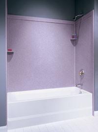 Swanstone SSIT-60-3 Bathtub 3-Panel Wall Kit with Integral Trim ...