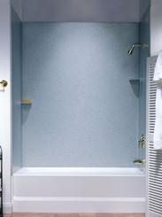 SS-72-3 Bathtub 3-Panel Wall Kit - Aggregate Color