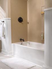 Swanstone SS 60 5 Bathtub 5 Panel Wall Kit   Solid Color