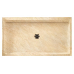 """Swanstone SS-3260 Single Threshold Shower Floor 32"""" x 60"""" - Solid Color"""