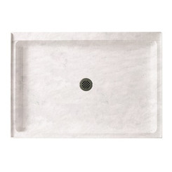 "Swanstone SS-3448 Single Threshold Shower Floor 34"" x 48"" - Aggregate Color"