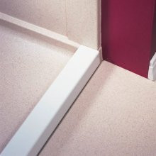 Swanstone BF-6000 Removable Threshold - Solid White Color
