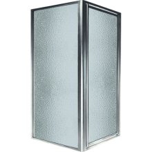 Swanstone SD-DTF Double Threshold Shower Door Kit - Obscure Glass