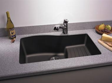 Swanstone QUAD-3322 Granite Undermount Large Single Ascend Bowl ...