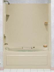 "Swanstone SSWP-4872 Whirlpool Tub Wall Kit 48""D x 72""W - Aggregate Color"