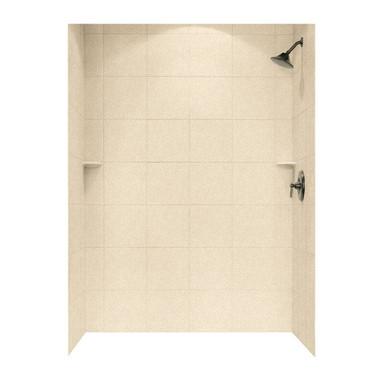 Swanstone SQMK96-3662 Shower Square Tile Wall Kit 36\