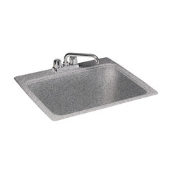 "Swanstone SSUS SC Large Utility Sink 25"" x 22"" Solid Color"
