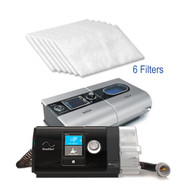 The Resmed AirSense™ 10, AirCurve™ 10 and S-9 CPAP Filter is considered to be a standard filter in the AirSense™ 10 and S9 series CPAP machine.  The AirSense™ 10 and S9 machines do not use the most common foam and fine filters.  Instead, the AirSense™ 10 and S9 series uses filters made of fibrous materials that deter large granular matter.  It is just as effective as the well-known foam and fine filters!