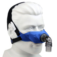 SleepWeaver Elan CPAP Mask  and Headgear, regular - Blue or Tan