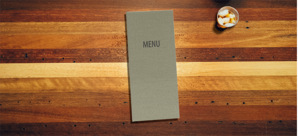 Menu Covers Robust Cotton