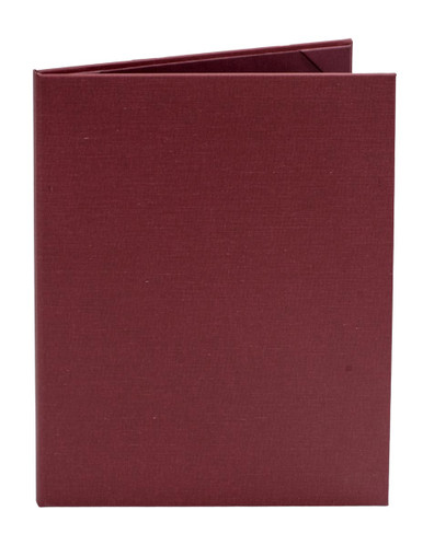 8 1/2 x 11 Insert, 2-Panel Menu Cover (Burgundy)