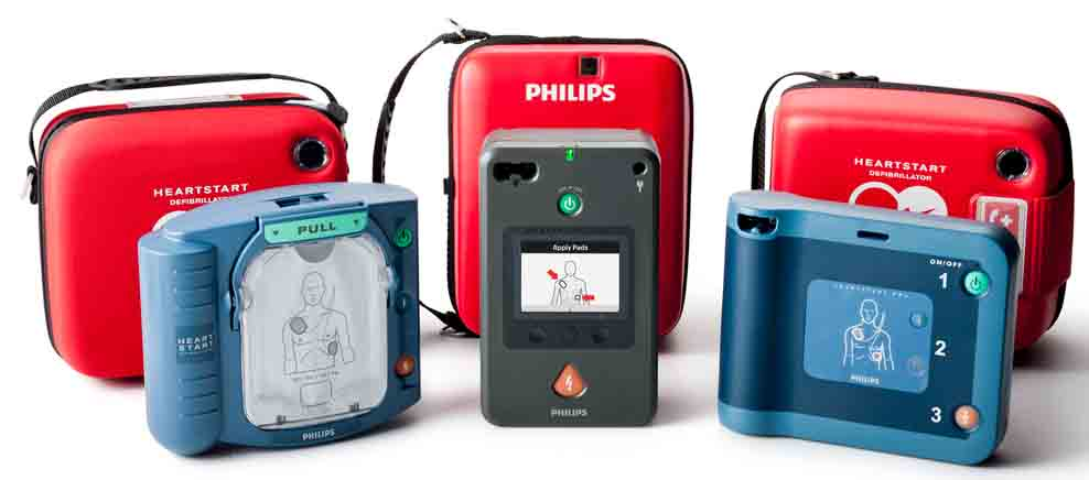 Lease from Philips Heartstart AED's