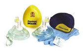 Laerdal Pocket Mask with One Way Valve, Gloves & Wipe (820011)