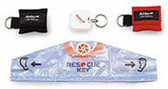 Ambu Rescue Key Chain w/Wipe & Gloves (248202)