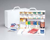 First Aid 2 Shelf Industrial First Aid Station (245-O)