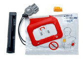 Physio Control Lifepak CR Plus Charge Pak and one set of adult electrodes