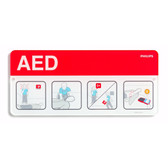 AED Awareness Placard