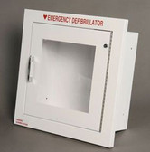 Recessed AED Wall Cabinet with Alarm