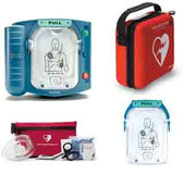 Lease to own Philips OnSite AED with Standard Carry Case and Fast Response Kit
