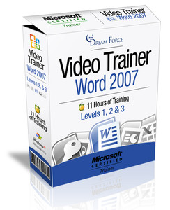 Word 2007 Training Videos Level 3 - Download