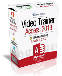 Access 2013 Training Videos