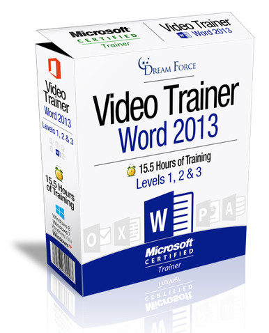 Word 2013 Training Videos Level 1 - Download