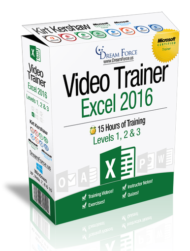 Excel 2016 Training Videos Level 3 - Download
