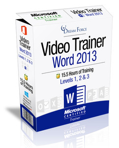 Word 2013 Training Videos