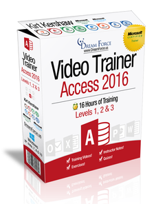 Access 2016 Training Videos Level 1 - Download