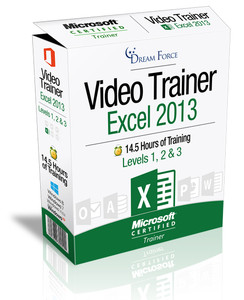 Excel 2013 Training Videos