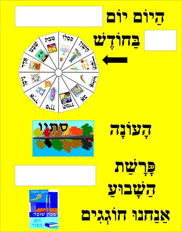 Daily Calendar Chart
