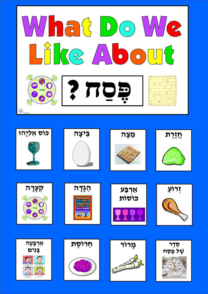 What Do We Like About Pesach?
