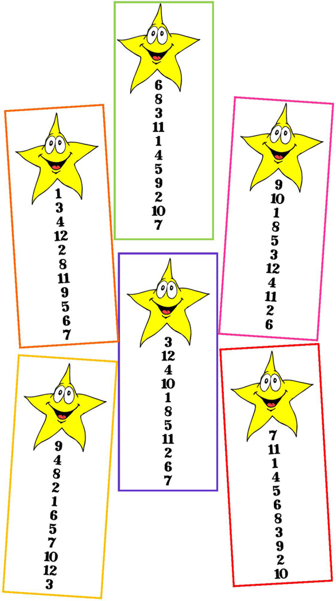 Be a Number Star