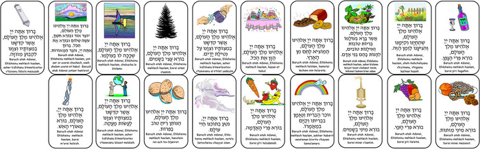 Bracha/Prayer Cards