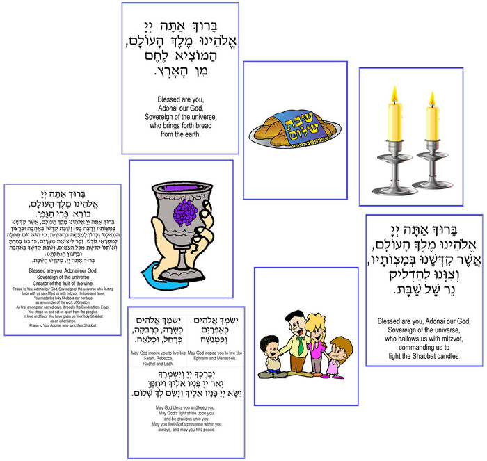 Shabbat Blessing Match