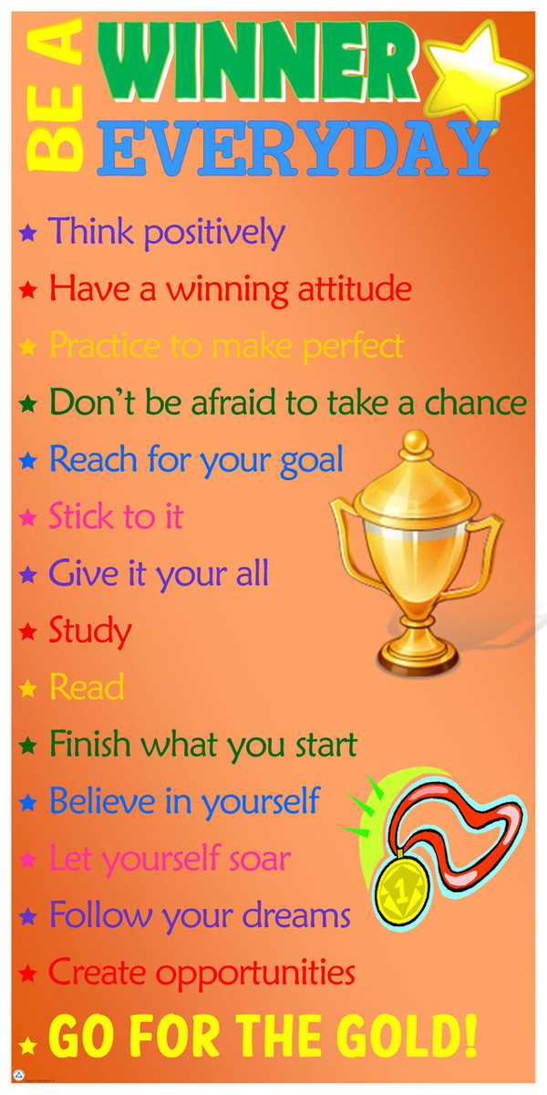 Be A Winner Everyday