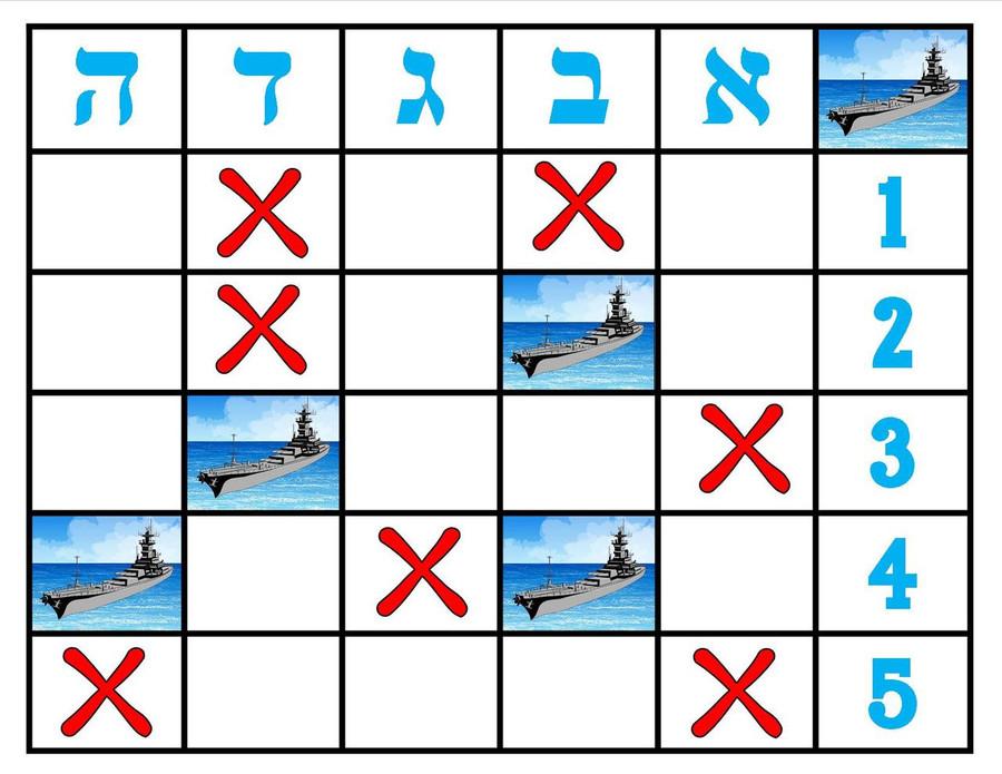 Hebrew Battleship