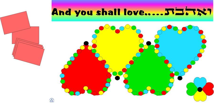 V'ahavta - And You Shall Love Game