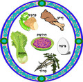 Pesach - Seder Plate (H-3)