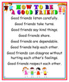 C.O. - Good Friend Poster (P-12)