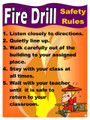 C.O. - Fire Drill Poster (P-23)