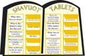 Shavuot - Shavuot Tablets (K-4)