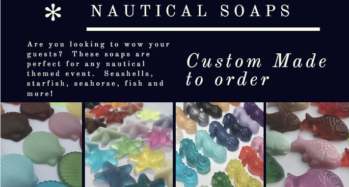 nautical soaps custom made