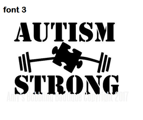 Autism Car Decal - Custom Made