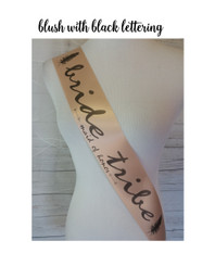 Bride Tribe Sash - Personalized